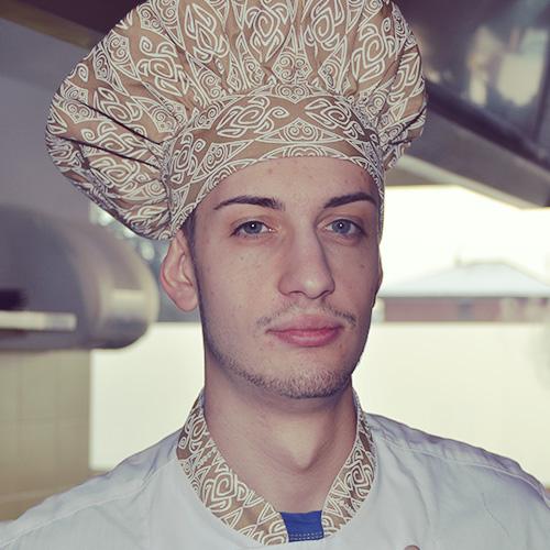 Luca Lavalle chef de partie